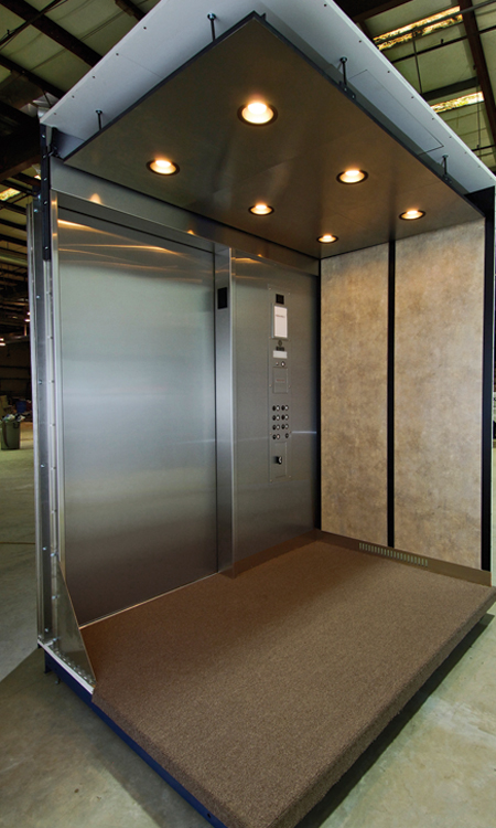 Cabs mowrey elevator for Elevator flooring options