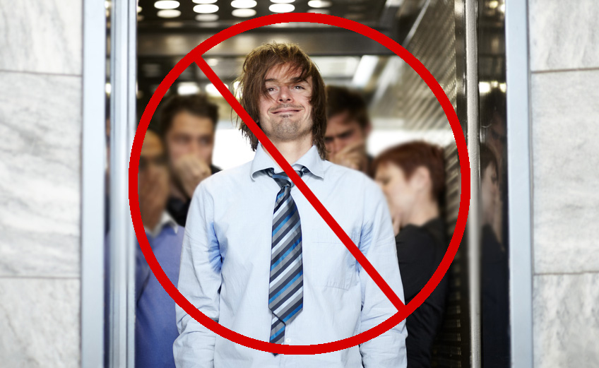 5 Things Not To Do In An Elevator