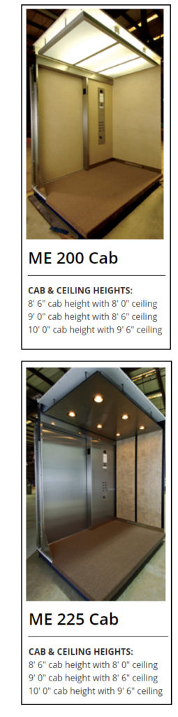 Elevator Cab Options