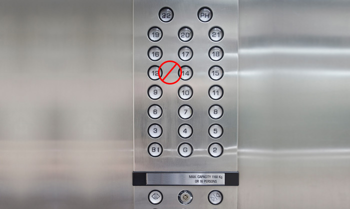 The rule of 13 why isn t there a 13th floor mowrey for 13 floor myth