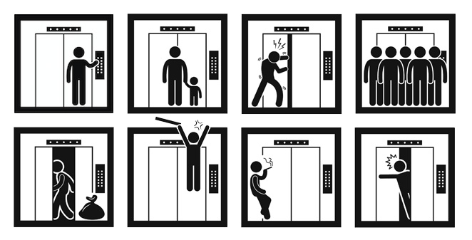 Using An Elevator Safely